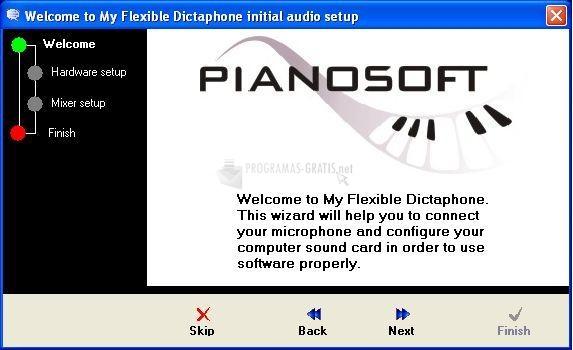 Pantallazo My Flexible Dictaphone