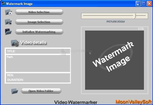 Pantallazo Video Watermark