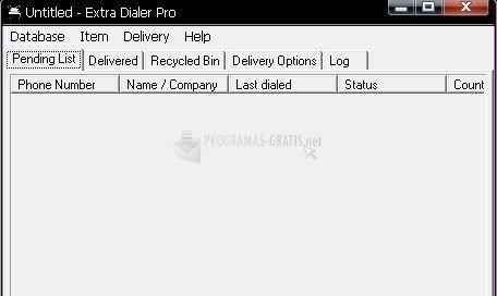 Pantallazo Extra Dialer Pro