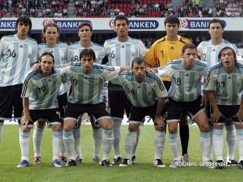 Pantallazo Selección argentina de fútbol