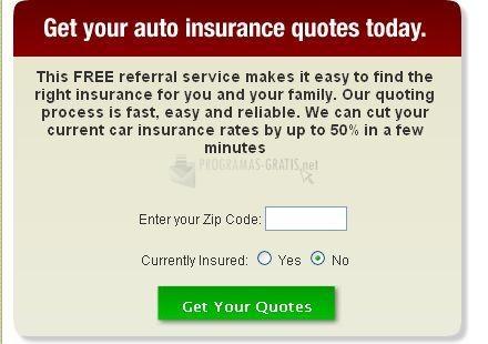 Pantallazo Insurance Buddy