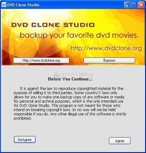 Pantallazo DVD Clone Studio