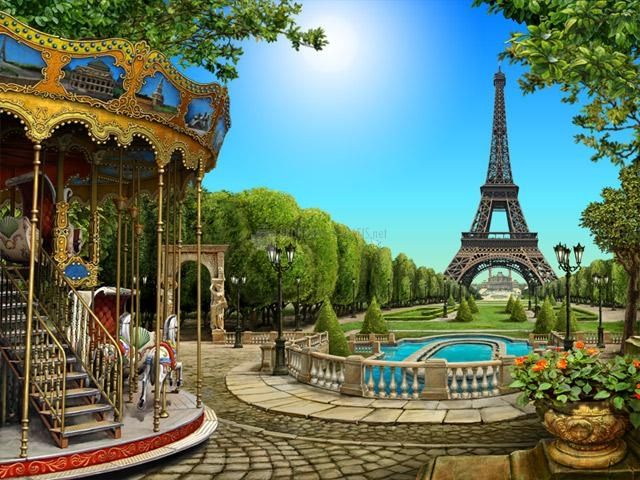 Pantallazo Around the World: Paris