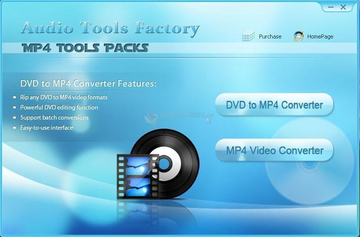 Pantallazo Shine MP4 Tools Packs