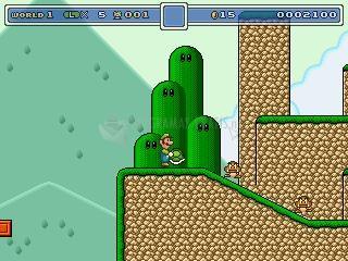 Pantallazo Super Luigi and the Golden Shrooms