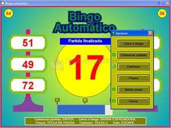Pantallazo Bingo Automatico