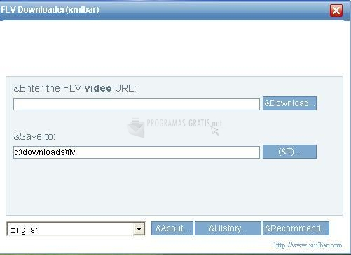 Pantallazo Liveleak Downloader