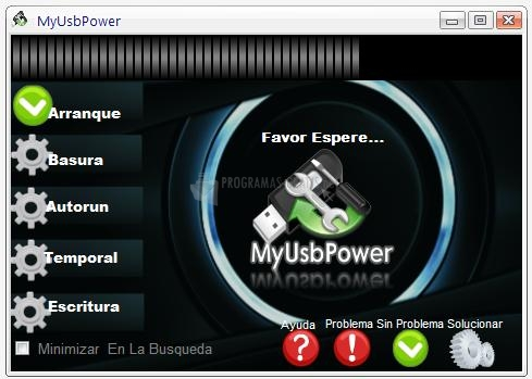 Pantallazo My USB Power