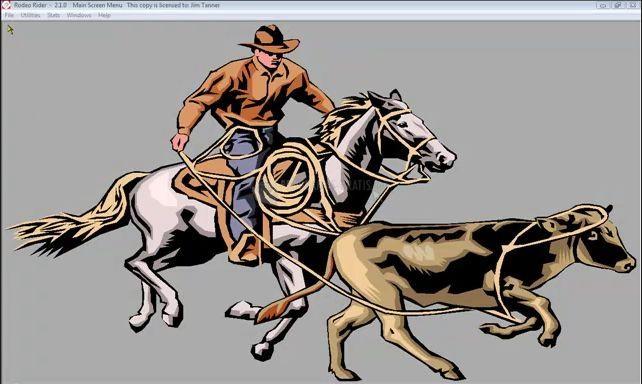 Pantallazo Rodeo Rider