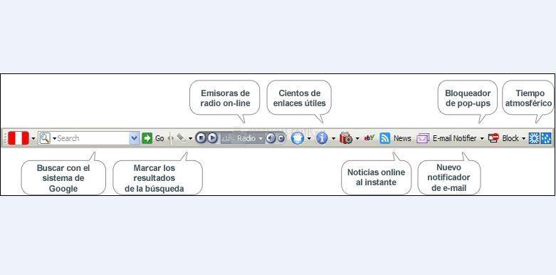 Pantallazo Radio Perú Firefox
