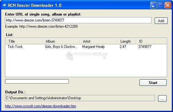descargar deezer downloader para pc gratis