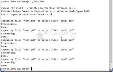 Pantallazo Append PDF