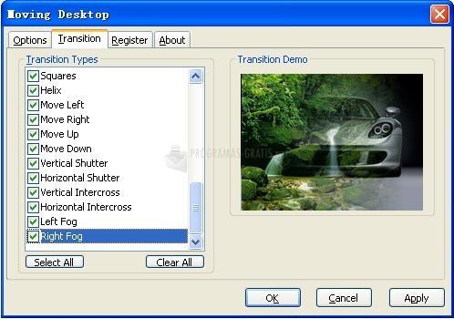 Pantallazo Moving Desktop