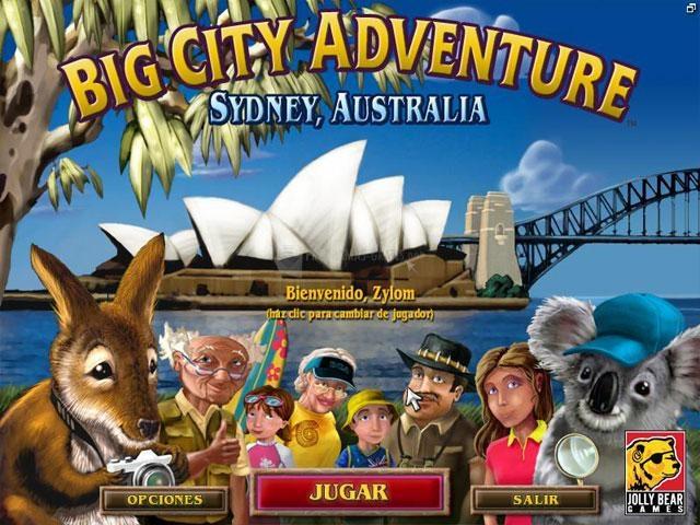 Pantallazo Big City Adventure Sydney Deluxe