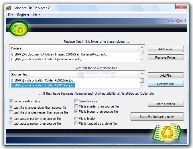 Pantallazo 1-abc.net File Replacer