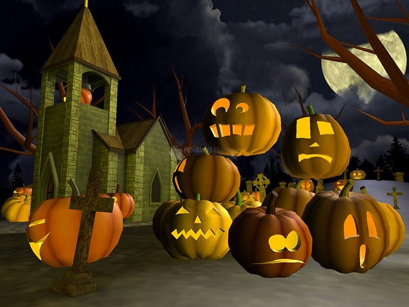 Pantallazo 3D Scary Halloween Screensaver