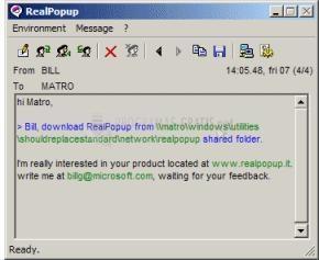 Pantallazo RealPopup
