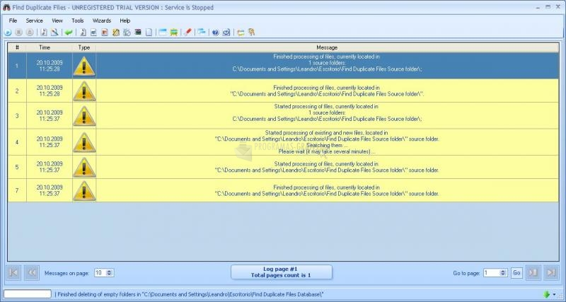 Pantallazo Best Duplicate File Finder