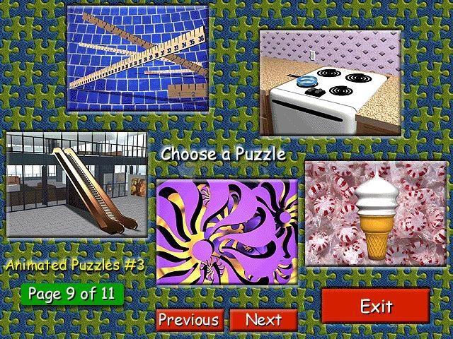 Pantallazo Animated Puzzles 3