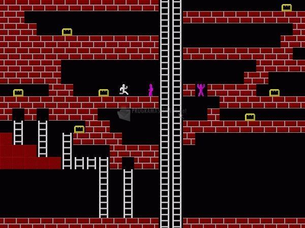 Pantallazo Lode Runner II: Bungeling Away