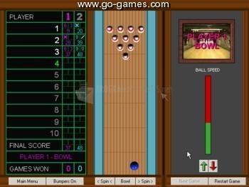 Pantallazo Grey Olltwit´s Bowling Game