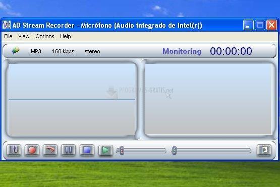 Pantallazo AD Stream Recorder