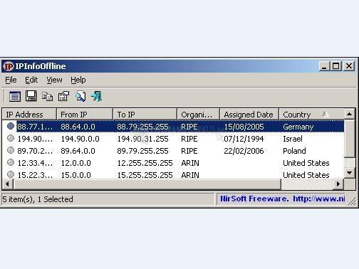 Foto IP Info Offline