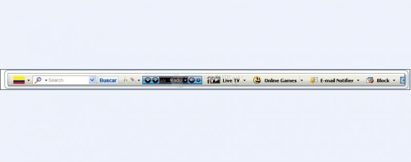 Pantallazo Radio Colombia Internet Explorer