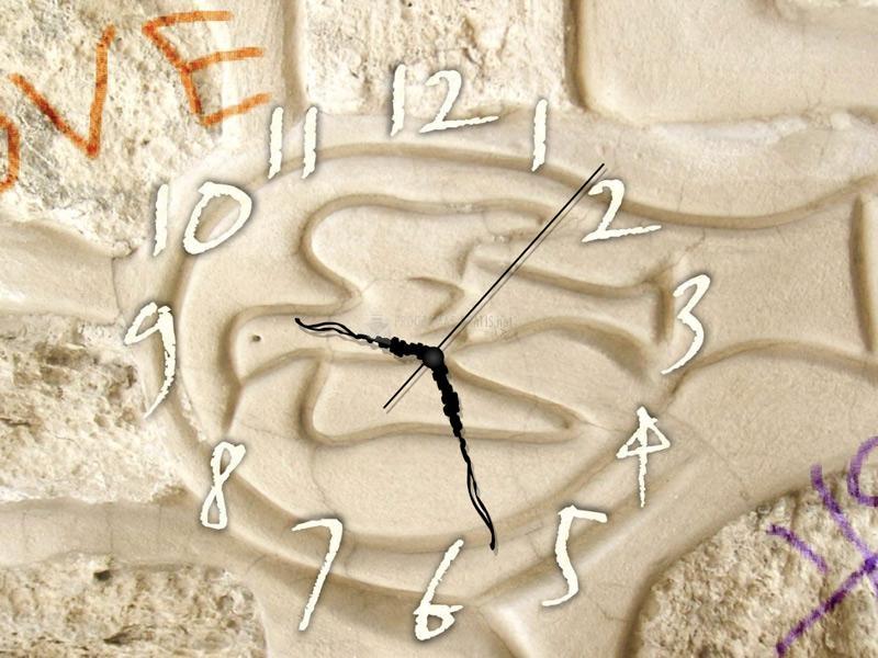 Pantallazo Wall Art Clock Screensaver