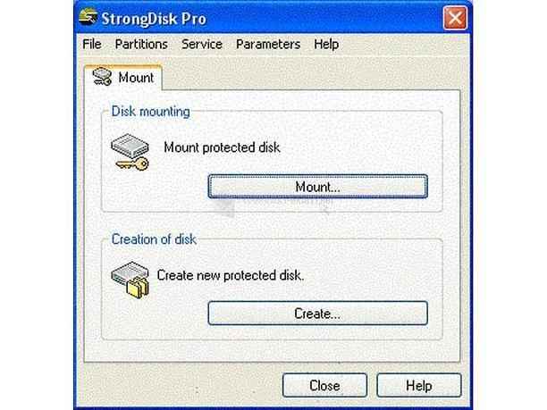 Pantallazo Strong Disk Pro