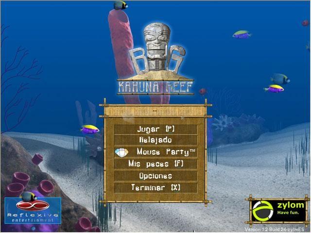 Pantallazo Big Kahuna Reef Deluxe