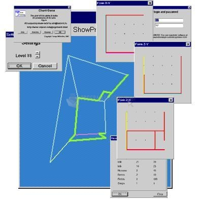 Pantallazo 3D technical drawing puzzle