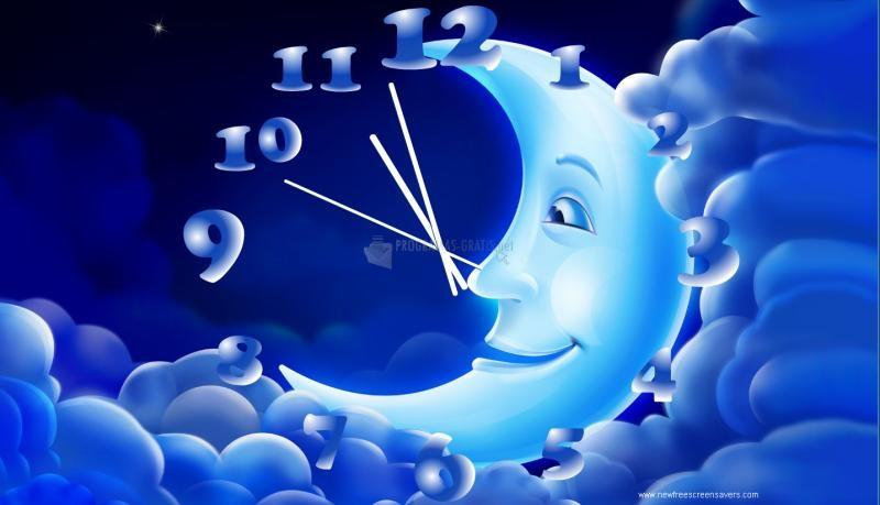 Pantallazo Moon Clock Screensaver
