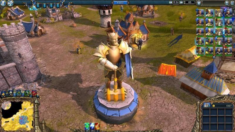 Pantallazo Majesty 2: The Fantasy Kingdom Sim