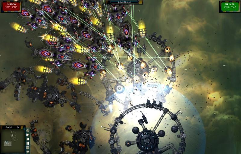 Pantallazo Gratuitous Space Battles