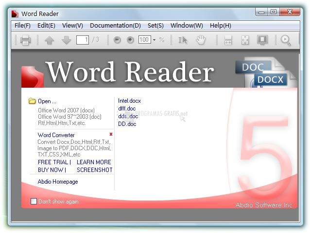 word 97-2003 gratis italiano