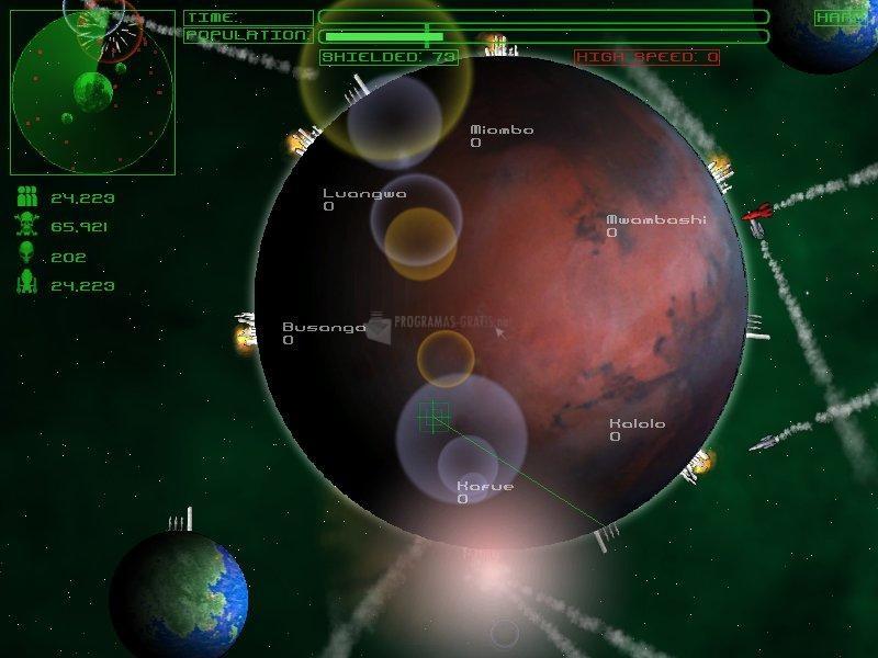 Pantallazo Planetary Defense