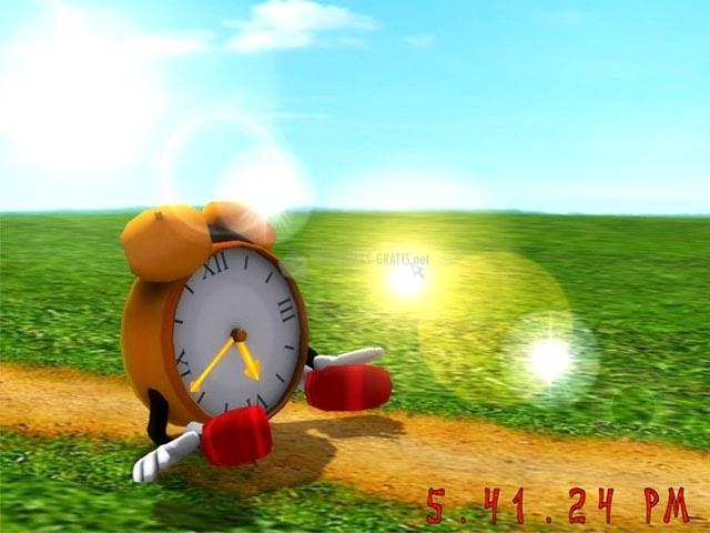 Pantallazo Funny Clock 3D Screensaver