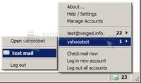 Foto Gmail Checker Firefox