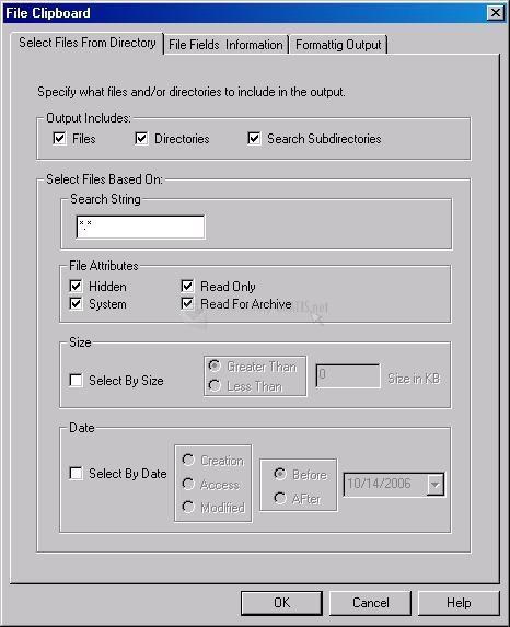 Pantallazo File Grabber