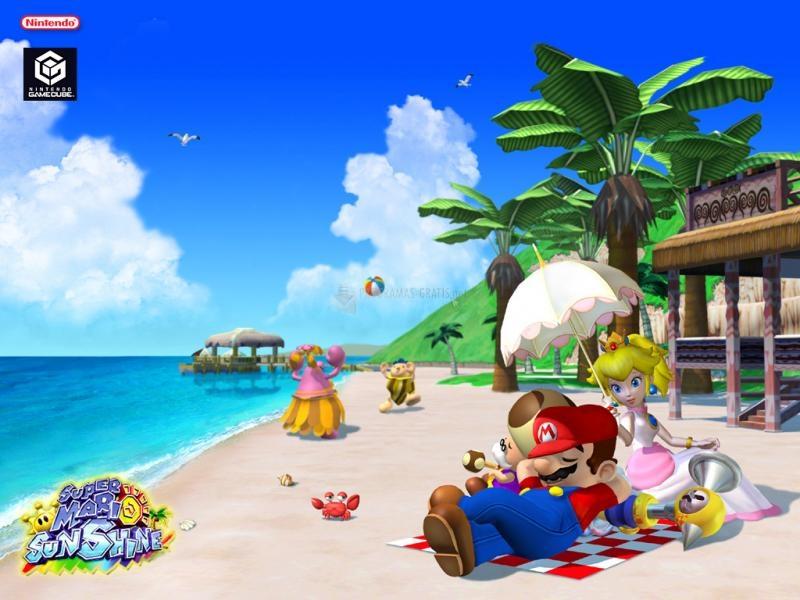 Pantallazo Super Mario Sunshine