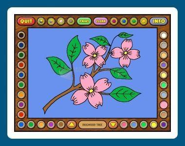 Pantallazo Coloring Book 4: Plants
