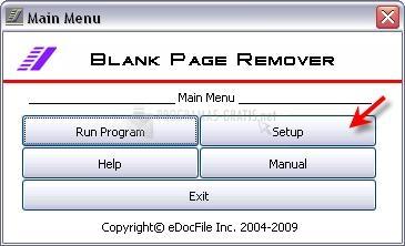 Pantallazo Blank Page Remover