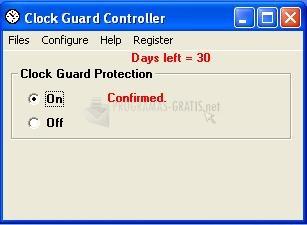 Pantallazo Clock Guard
