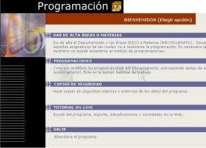 Pantallazo Programación Access 2000 Catalán