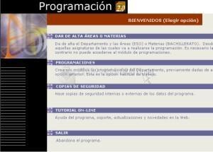 Pantallazo Programación Access 97 Catalán