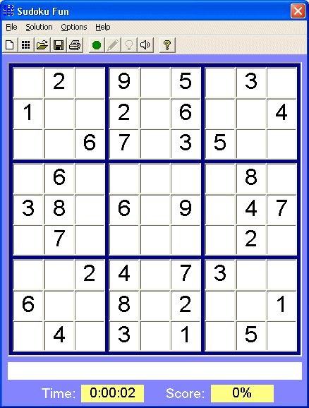 Pantallazo Sudoku Fun