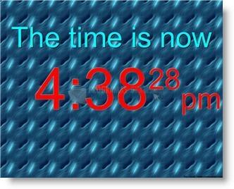 Pantallazo Big Free Clock
