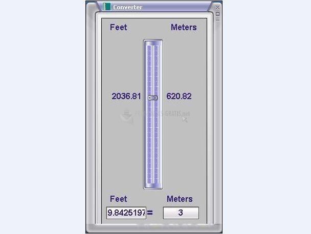 Pantallazo Meter Converter
