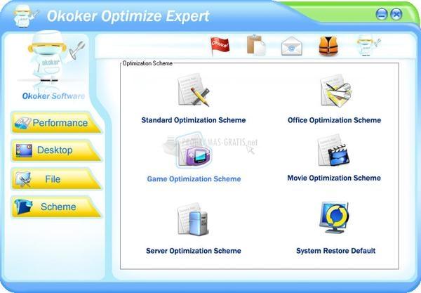 Pantallazo Okoker Optimize Expert